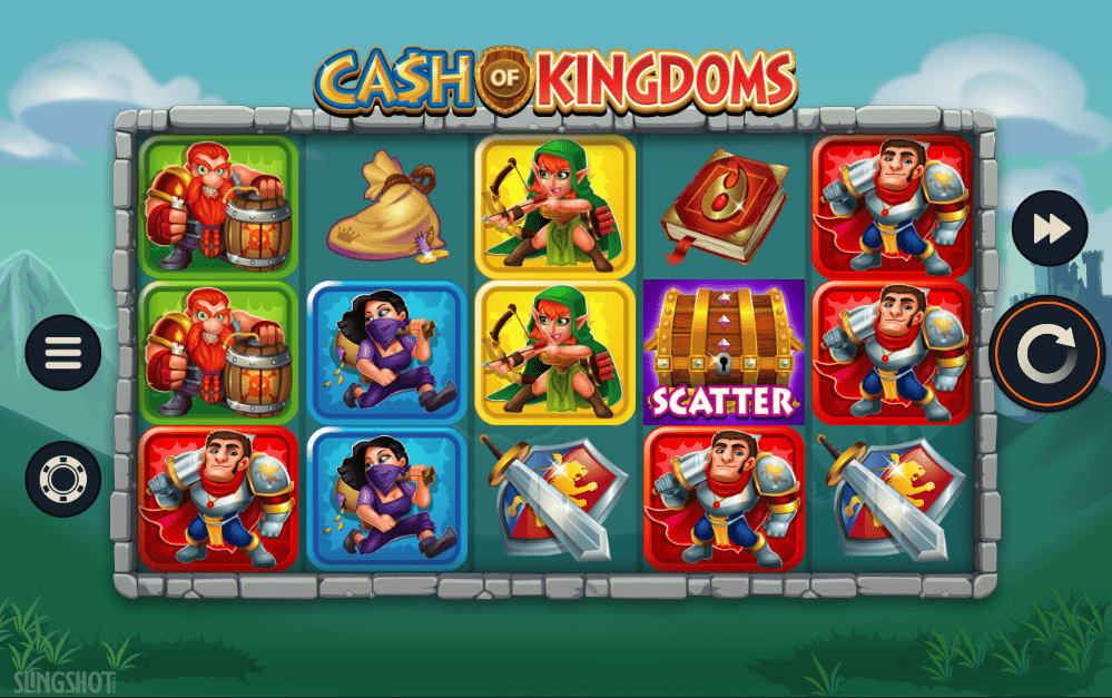 Cash Of Kingdoms Gameplay