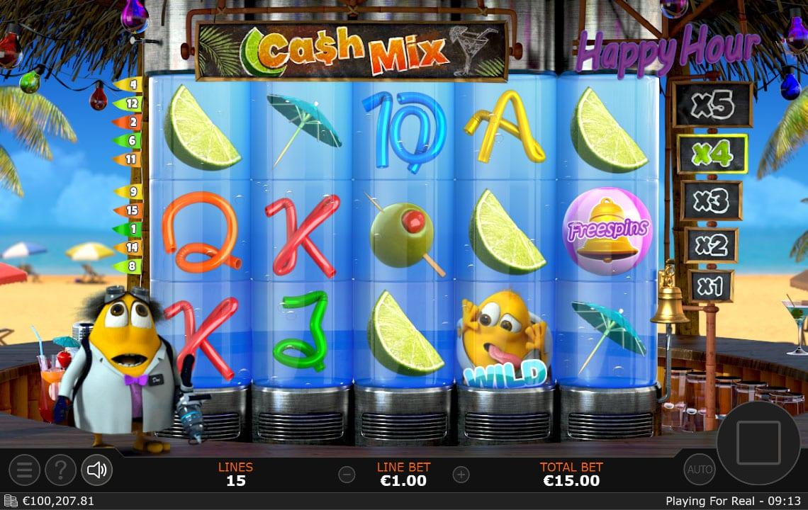 cash mix gameplay