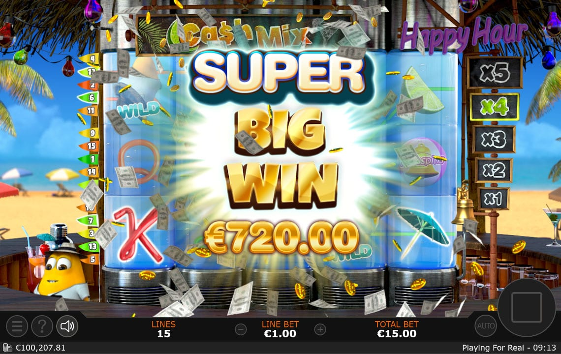 cash mix super win