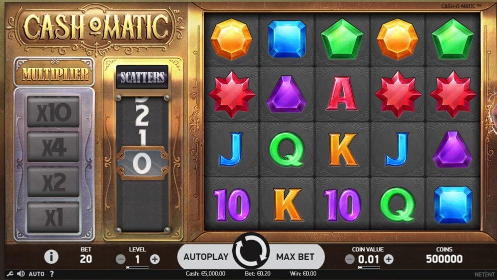 Cash O Matic Casino Game Image