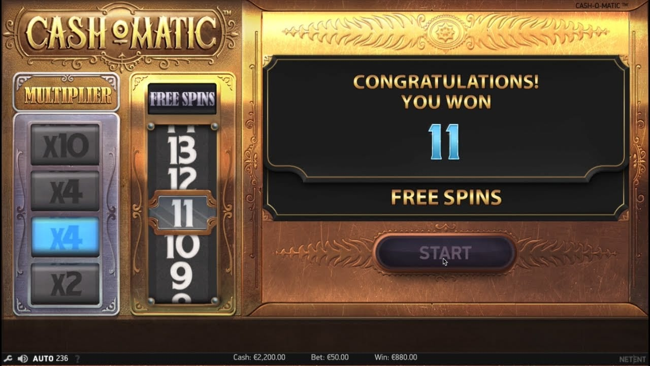 Cash O Matic Casino Slots Game