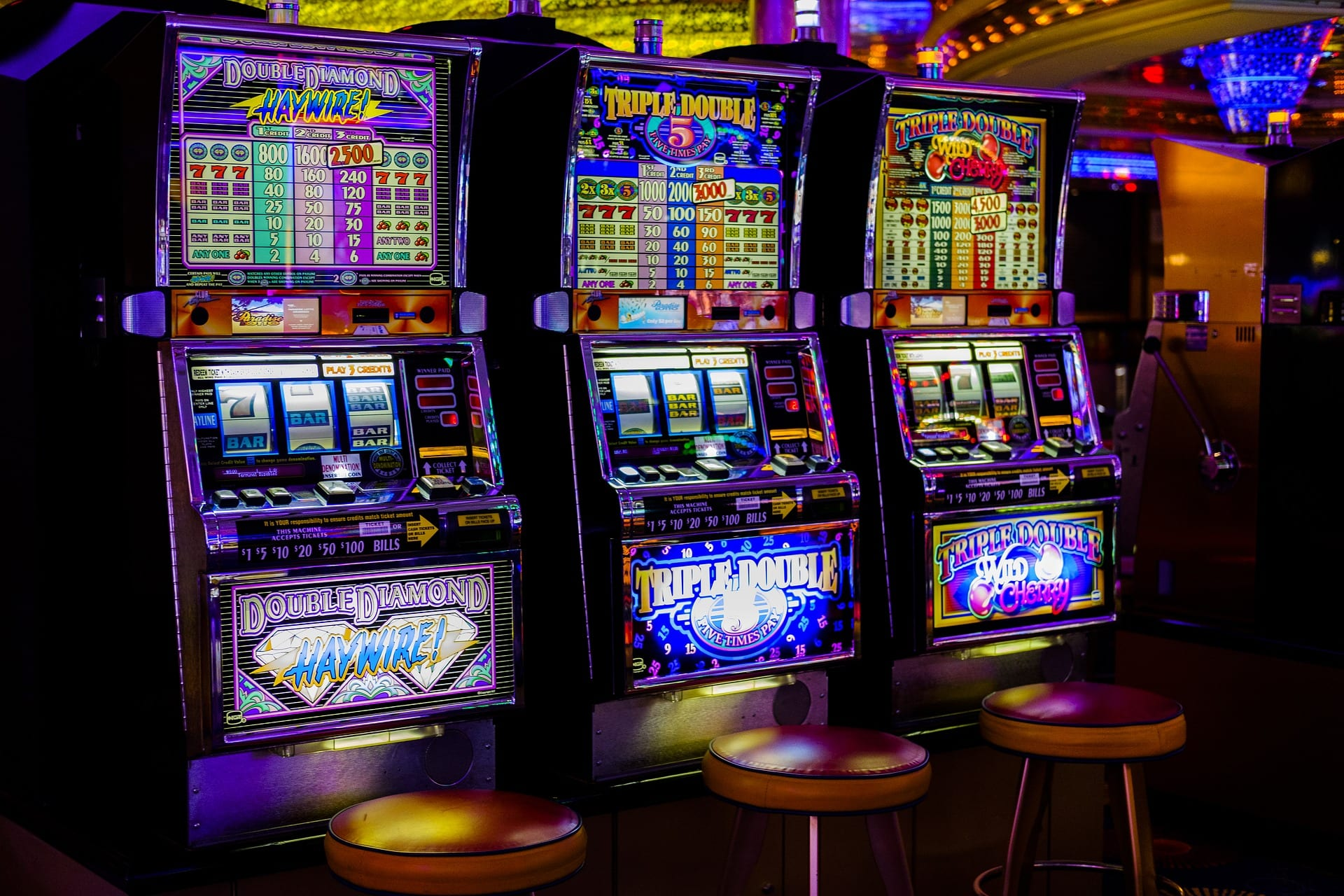 The History of Slots & Fruit Machines