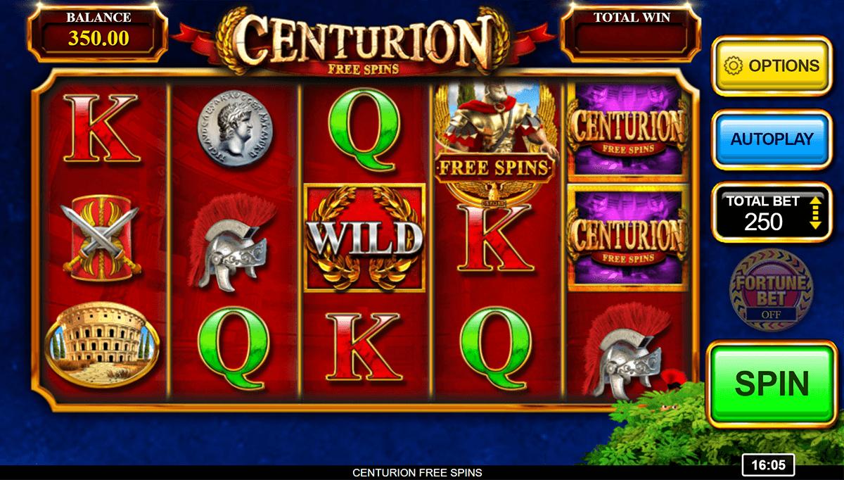 Centurion Free SPins Gameplay