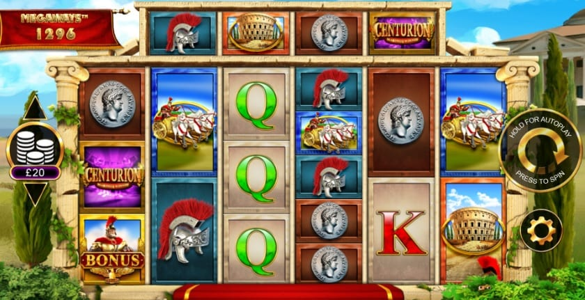 Centurion MegaWays Slot Games