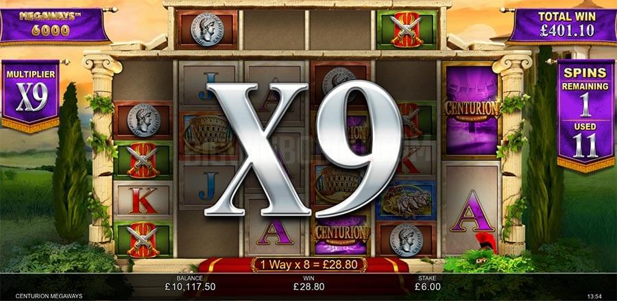 Centurion MegaWays Slot Game