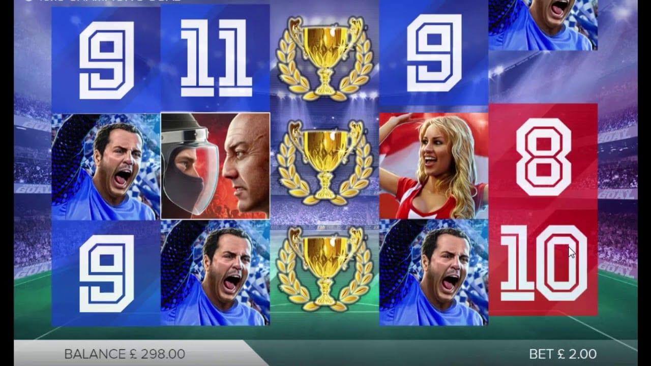 Champion's Goal Slots Game