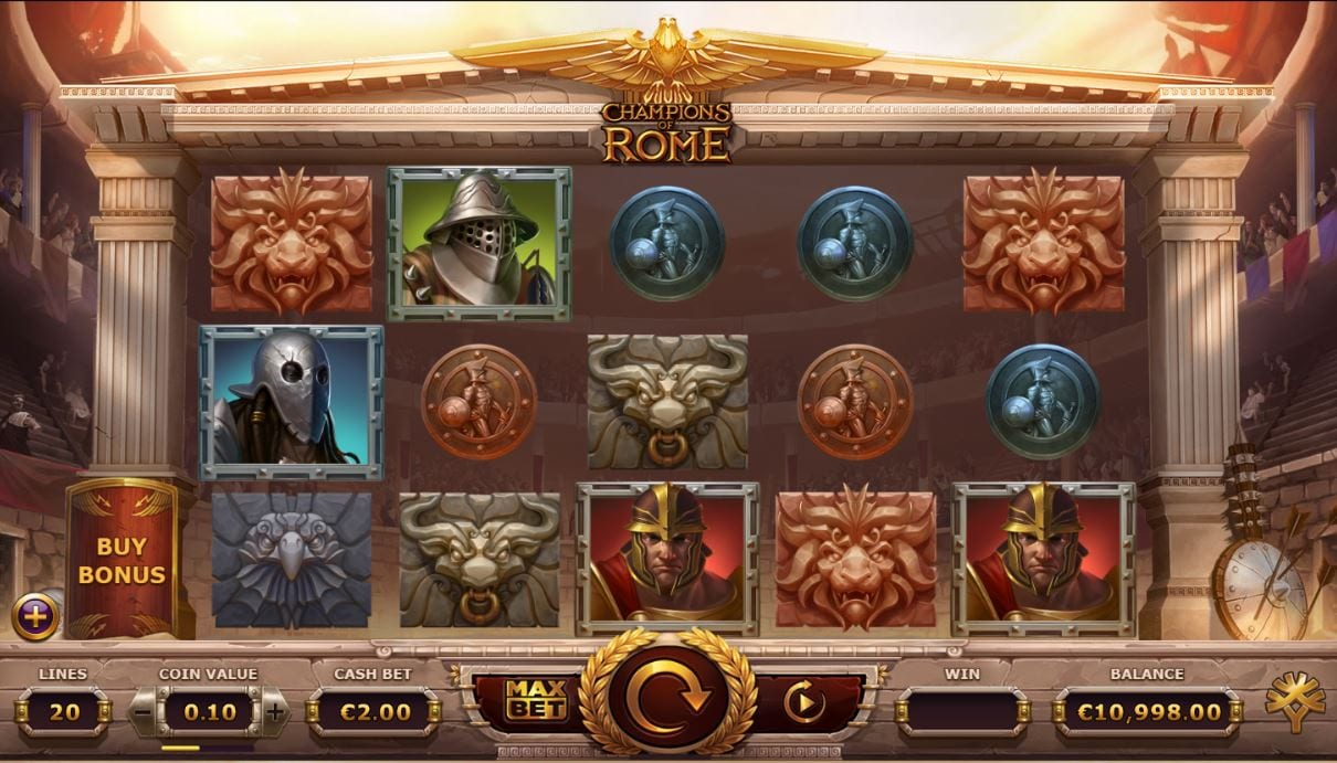 Champions of Rome Slots Game