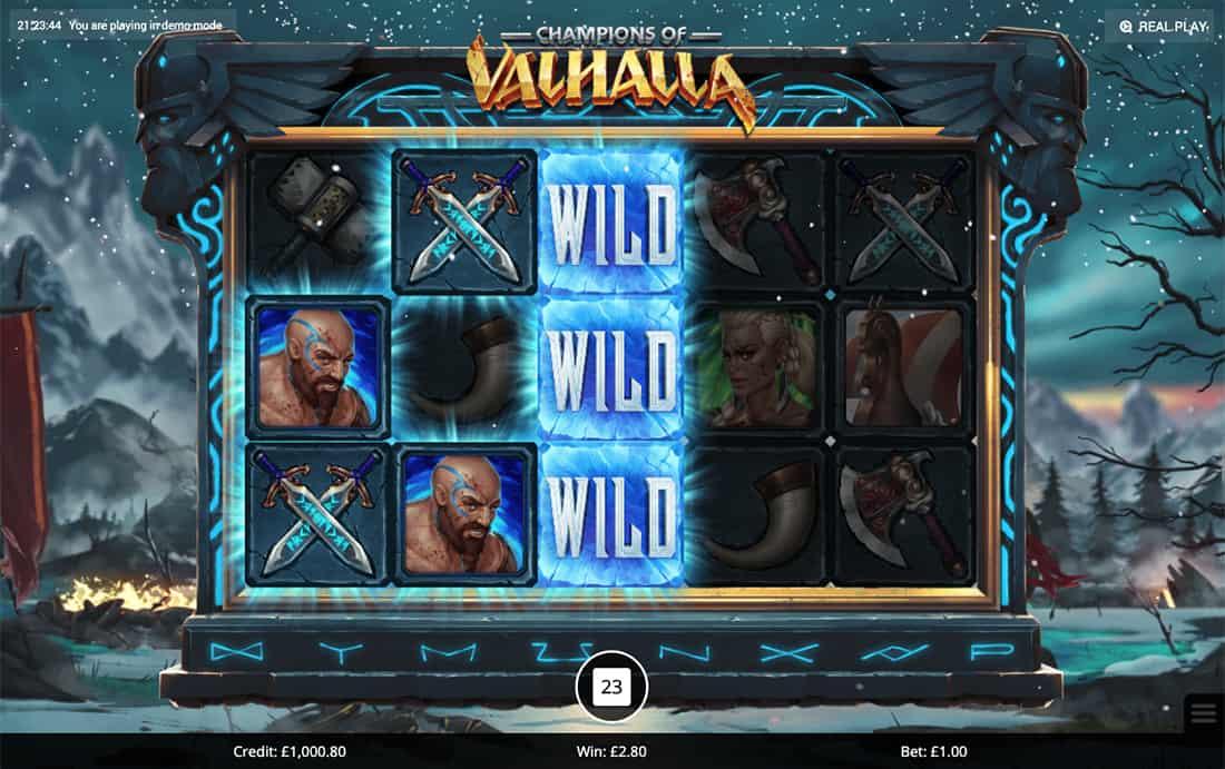 Champions of Valhalla Gameplay Casino