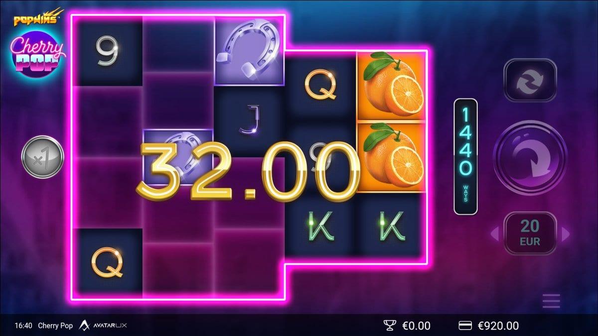 CherryPop Slot Big Win