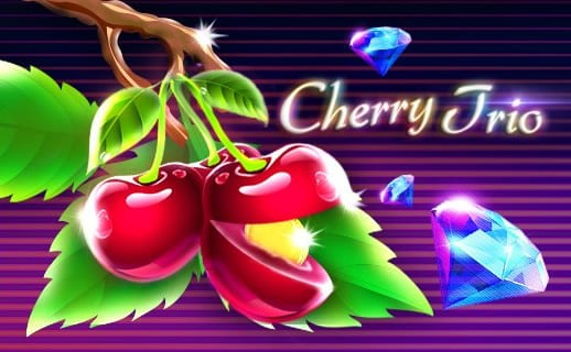 Cherry Trio online slots game logo