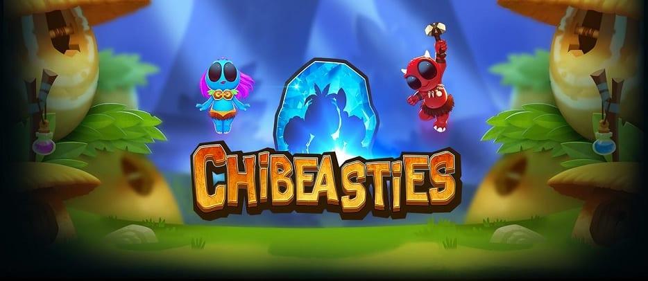 Chibeasties online slots game logo