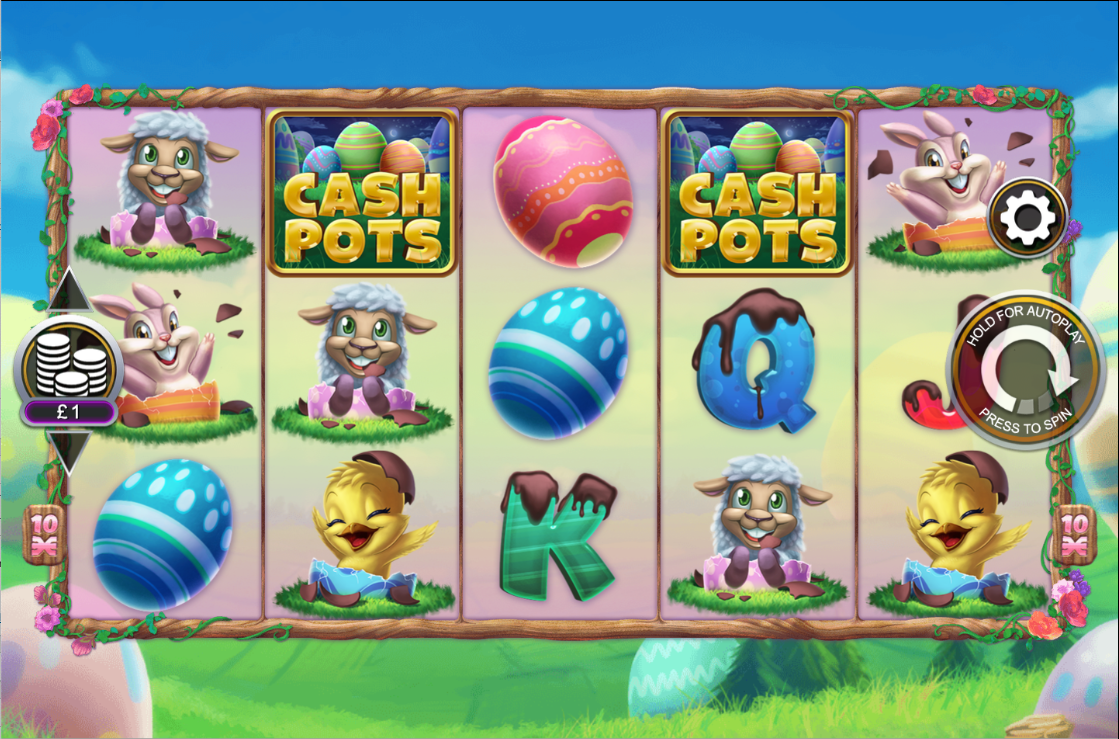 Chocolate Cash Pots Slots Game
