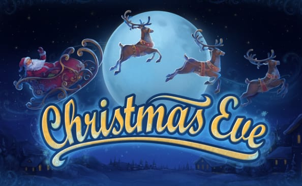 Christmas Eve online slots game logo