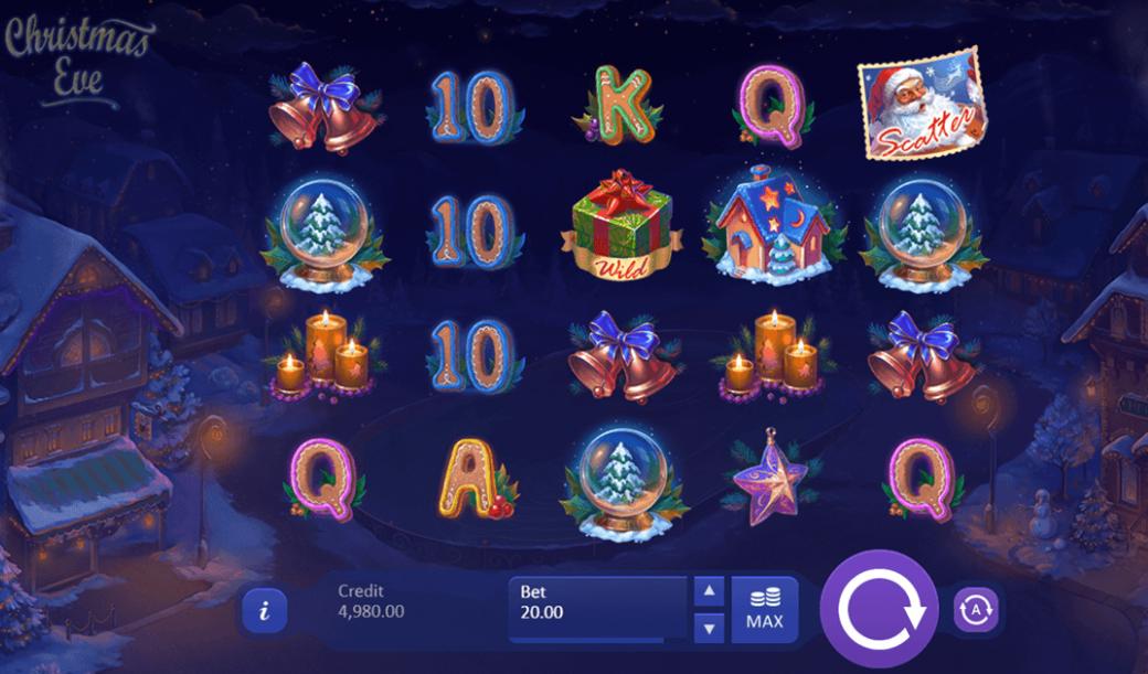 Christmas Eve Slot Bonus Features