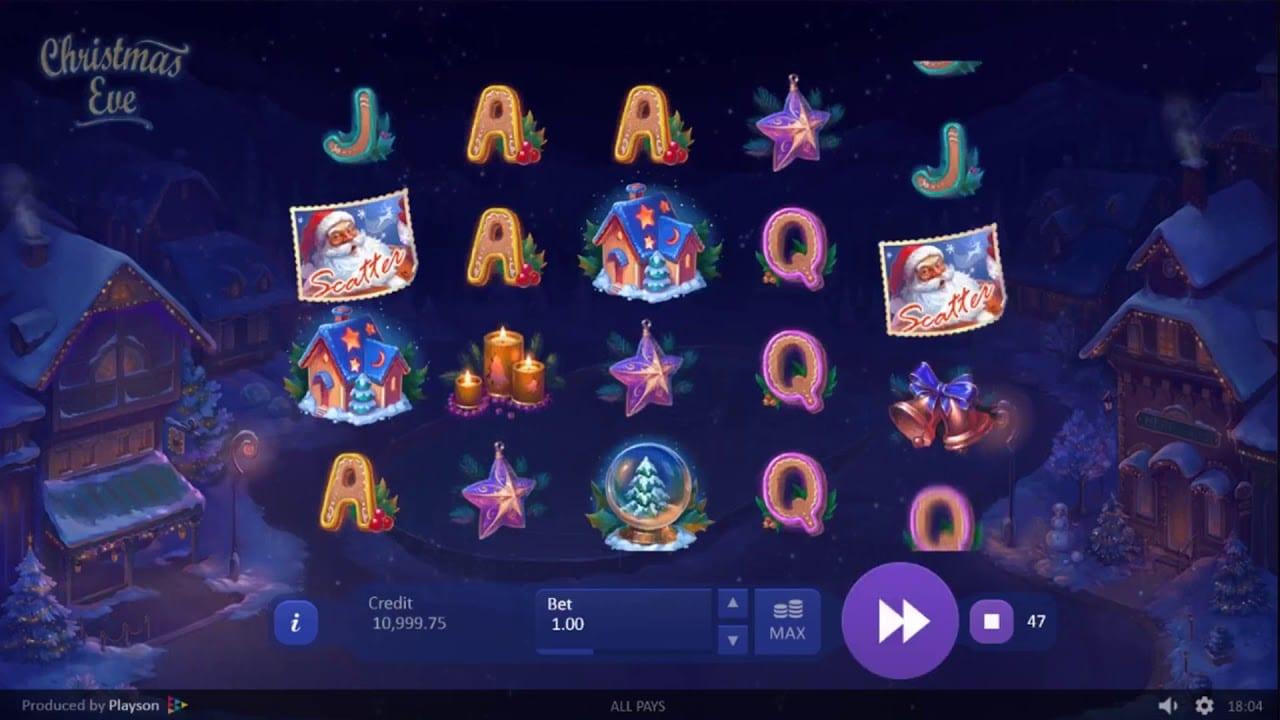 Christmas Eve Free Slots