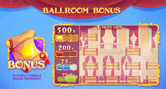 Cinderella Ball Bonus