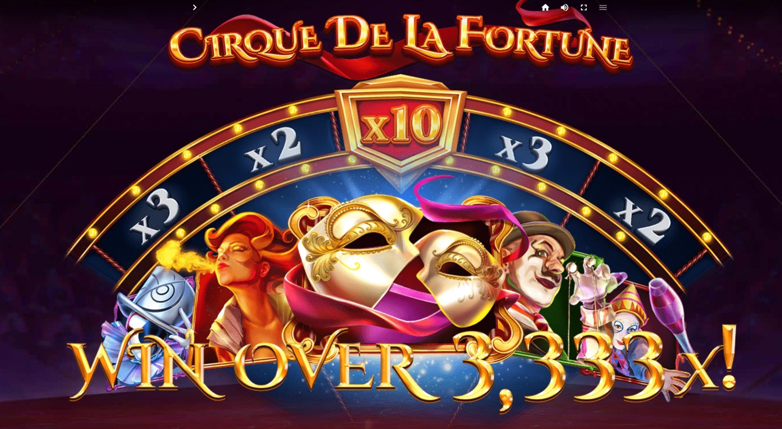 Cirque De La Fortune Slot Wizard Slots