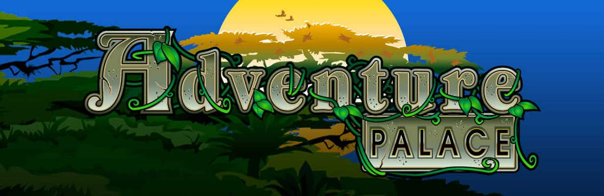 Adventure Palace slot game logo