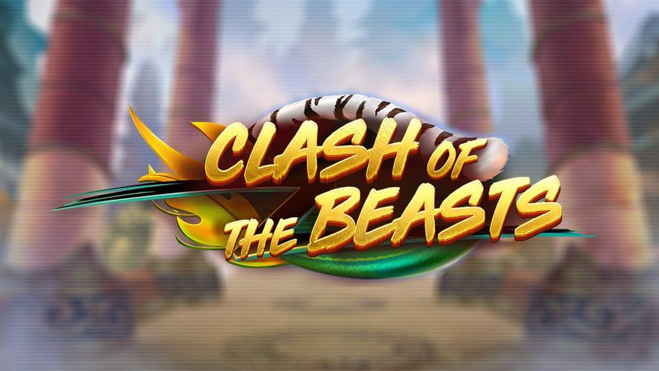 Clash of the Beasts Slots Slot Logo Wizard Slots