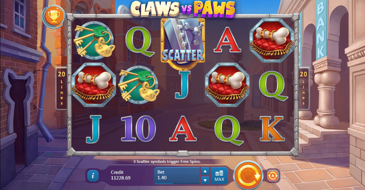 claws vs paws gameplay