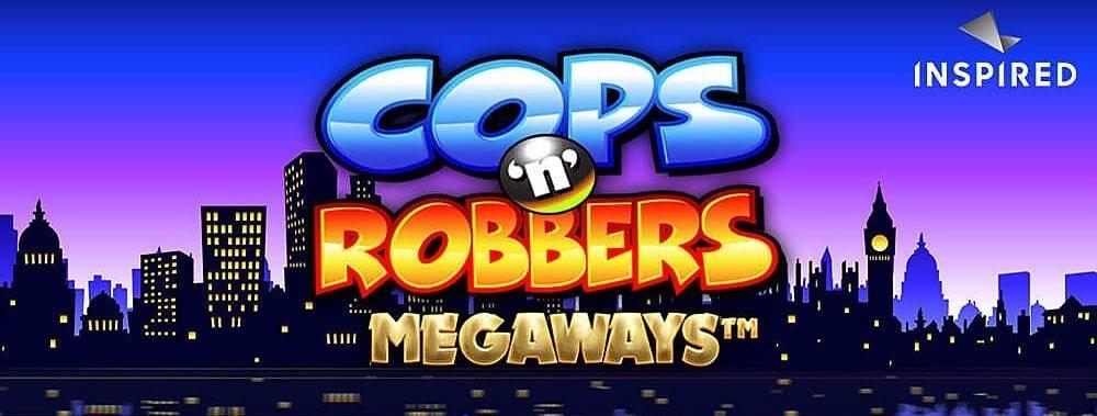 Cops 'n' Robbers Megaways Slot Logo Wizard Slots