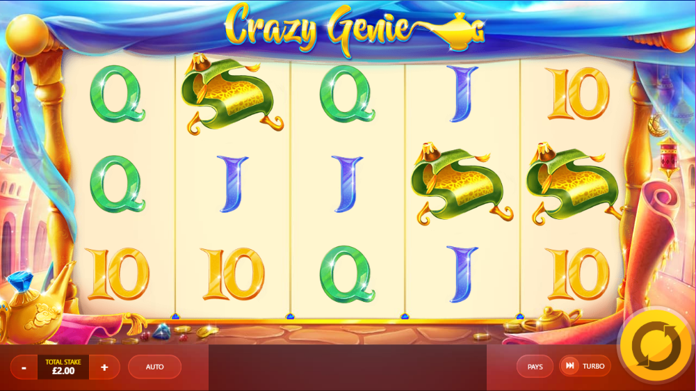 Crazy Genie Gameplay