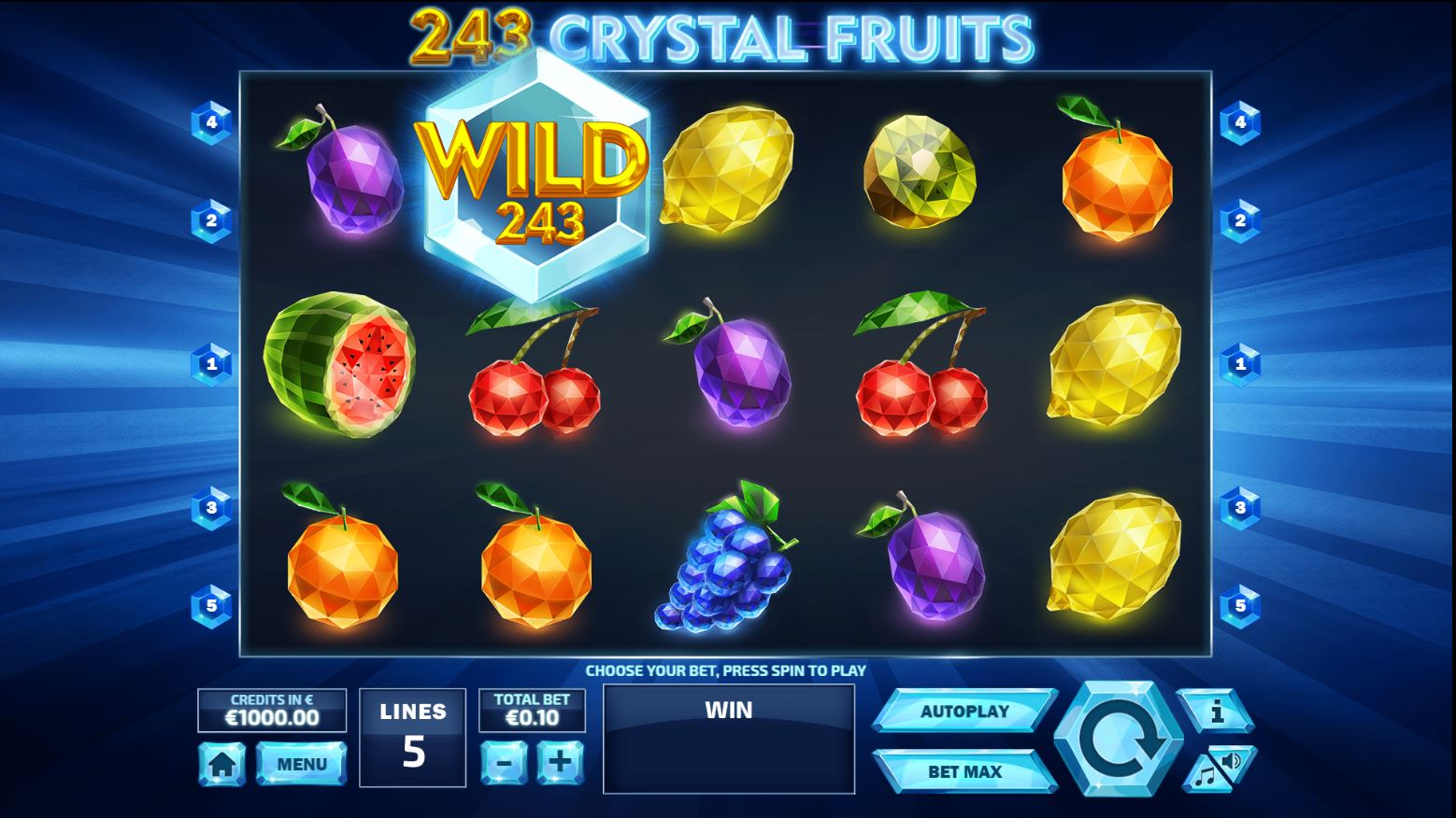 243 crystal fruits gameplay