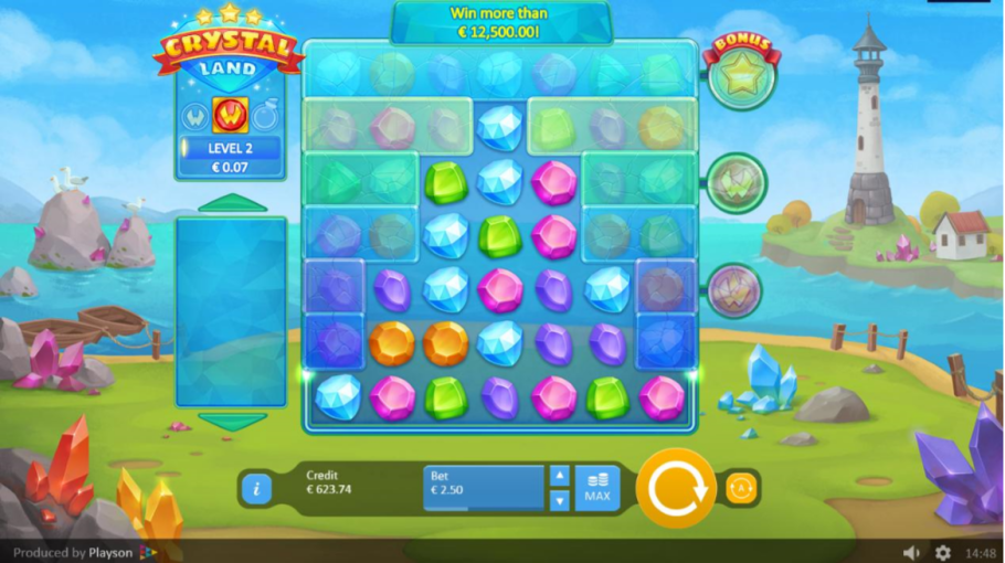 Crystal Land Gameplay