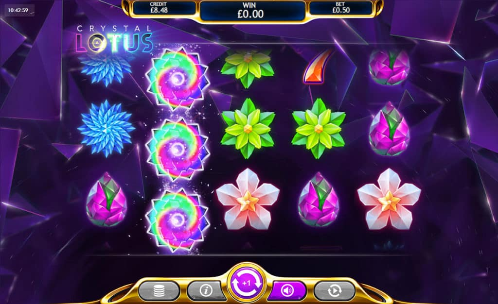 Crystal Lotus Slots Game