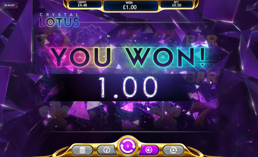 Crystal Lotus Slot Big Win