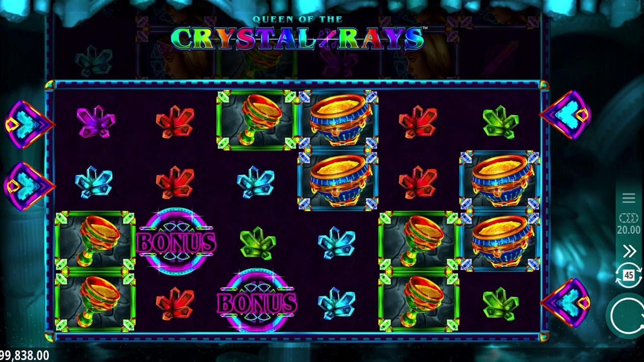 Queen of the Crystal Rays Casino games