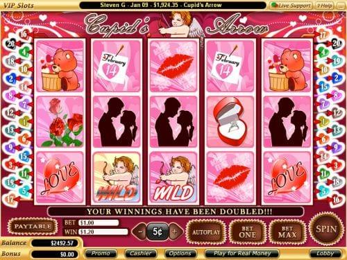 Cupids Arrow game lobby