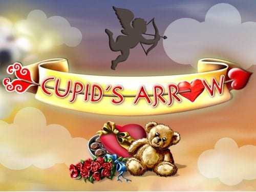Cupids Arrow online slots game logo