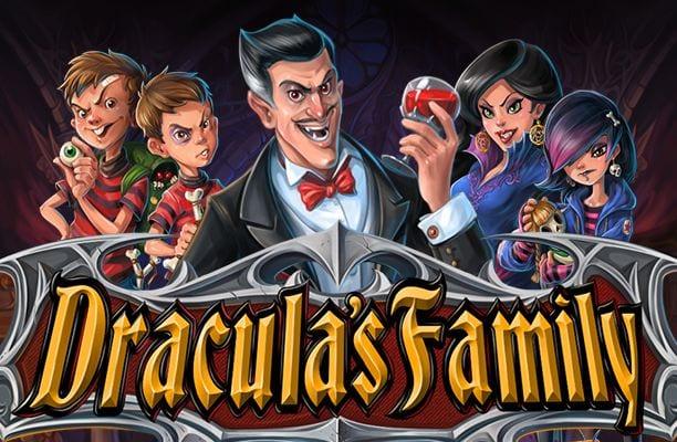 Draculas Family online slots game logo