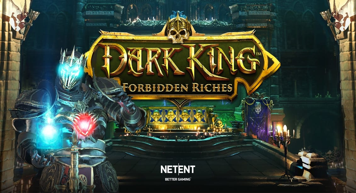 Dark Kingdom Forbidden Riches Slot Logo Wizard Slots