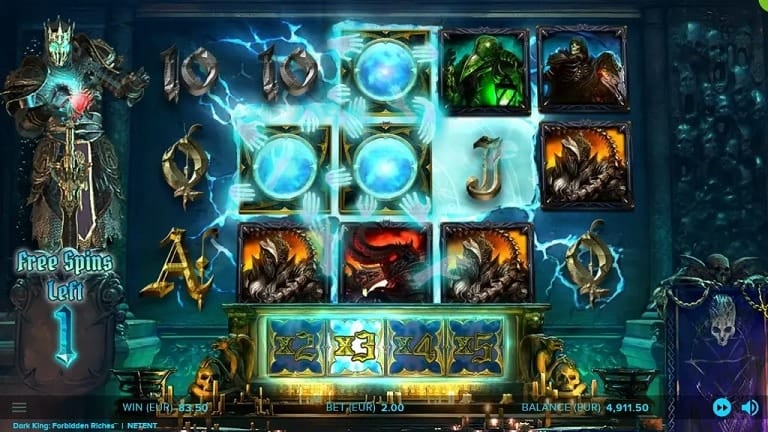 Dark Kingdom Forbidden Riches Slots Reels