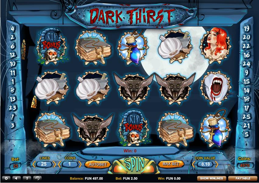 dark thirst in game