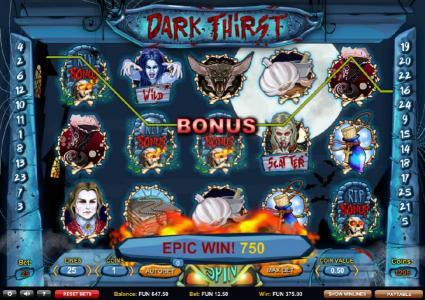 dark thirst in game 2