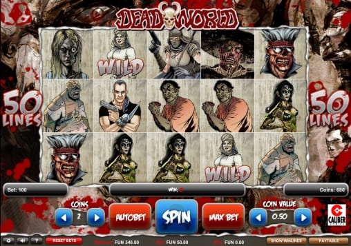 deadworld game play screenshot