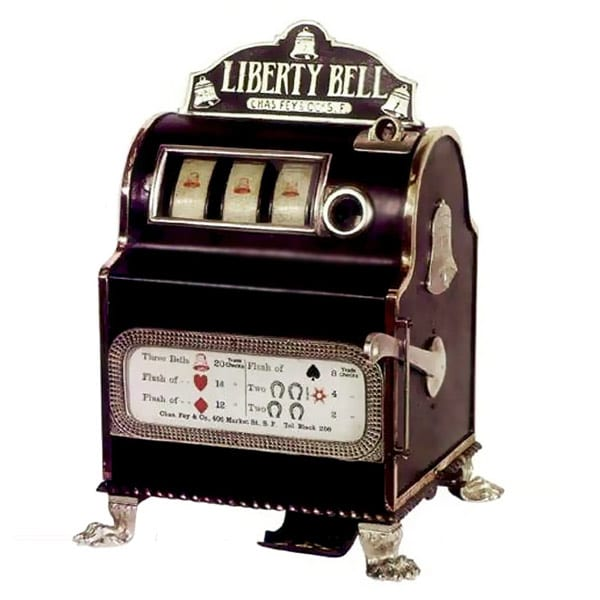 Charles Fey Liberty Bell Slots Machine