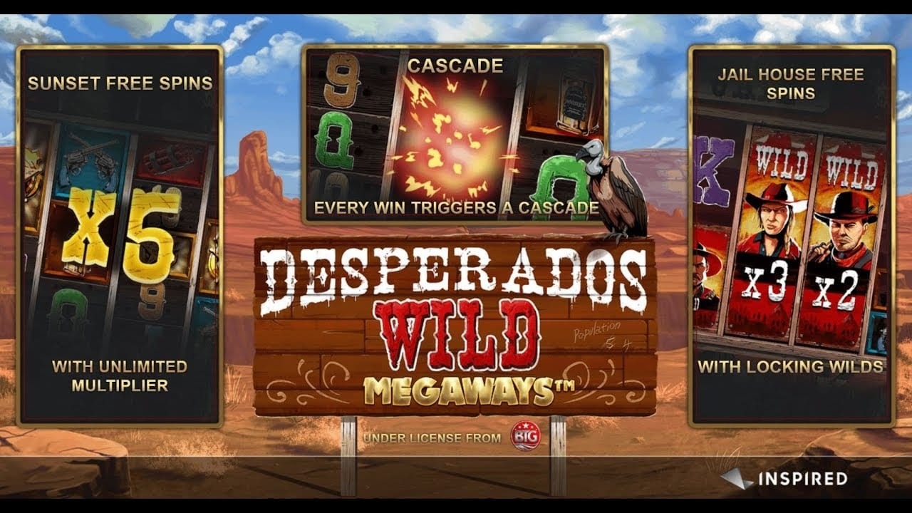 Desperados Wild Megaways Features