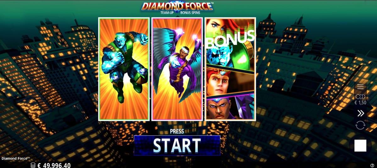 Diamond Force Slots Bonus