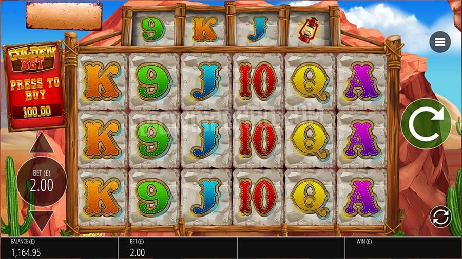 Diamond Mine: Extra Gold Slots Game Play