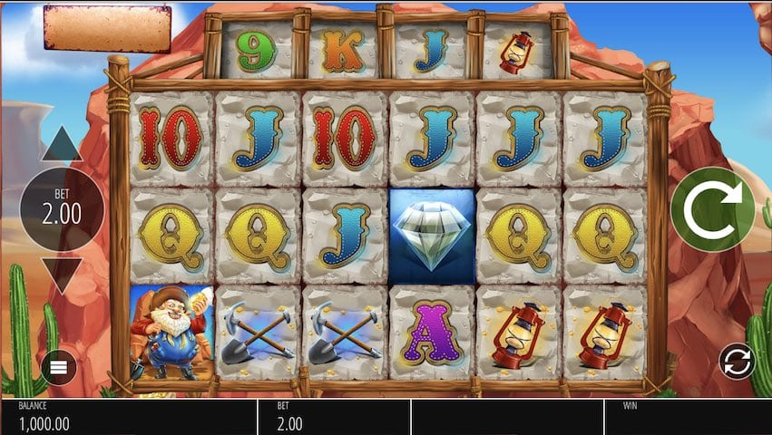Diamond Mine slot Wizard Slots