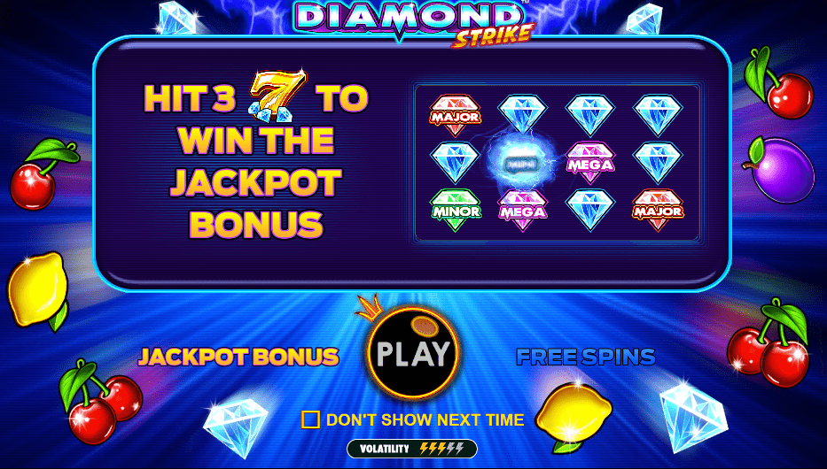 diamond strike bonus