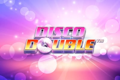 Disco Double online slots game logo