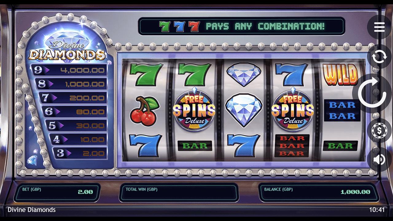Divine Diamonds Slots Game