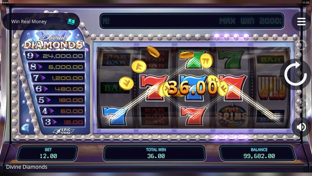 Divine Diamonds Slot Online
