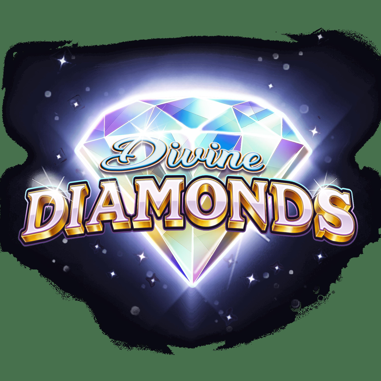 Divine Diamonds Slot Logo Wizard Slots