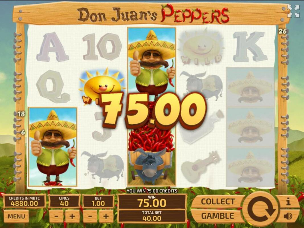 don juans peppers win
